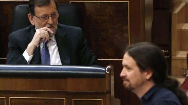Rajoy e Iglesias en el Congreso