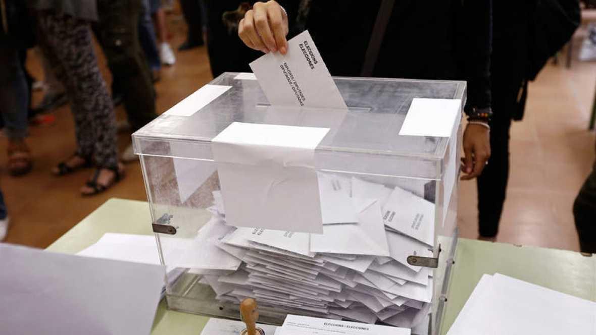Imagen de las elecciones en Cataluña de 2015