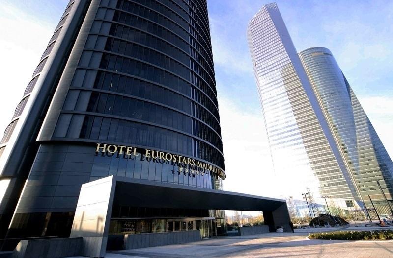 Hotel Eurostars Tower de Madrid, buque insignia del Grupo Hotusa.