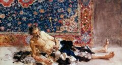 'El fumador de opio', de Fortuny.