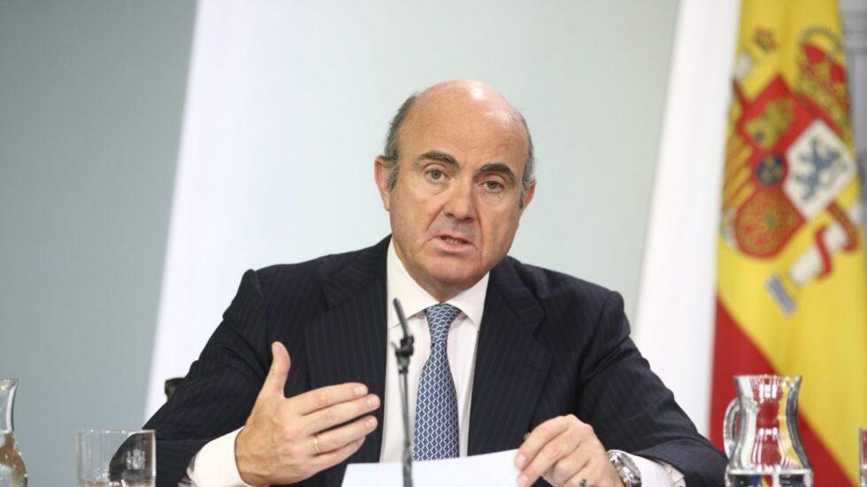 Luis de Guindos, ministro de Economía, Industria y Competitividad.