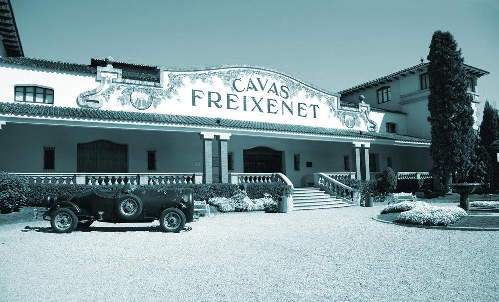 Sede de Freixenet en San Sadurní de Noya, una de las empresas afectadas por la amenazas de boicot a los productos catalanes contra el desafío independentista.