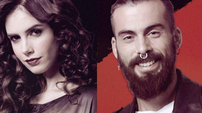 Los dos concursantes de Gran hermano Revolutión Carlota y José María.