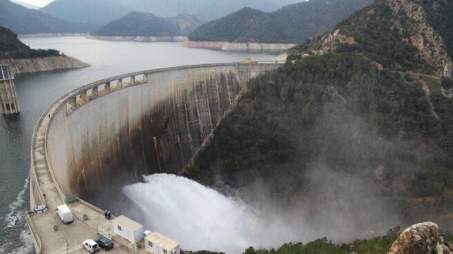 Central hidroeléctrica de Susqueda, en Girona.