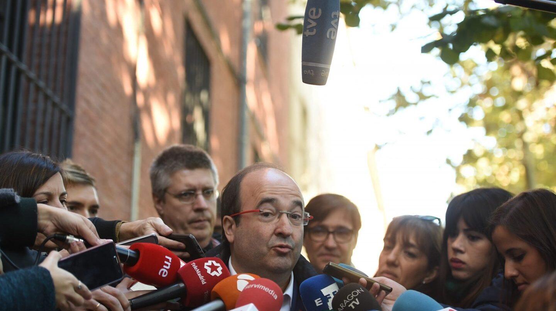 El líder de los socialistas catalanes, Miquel Iceta.