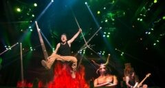 El grupo Iron Maiden.