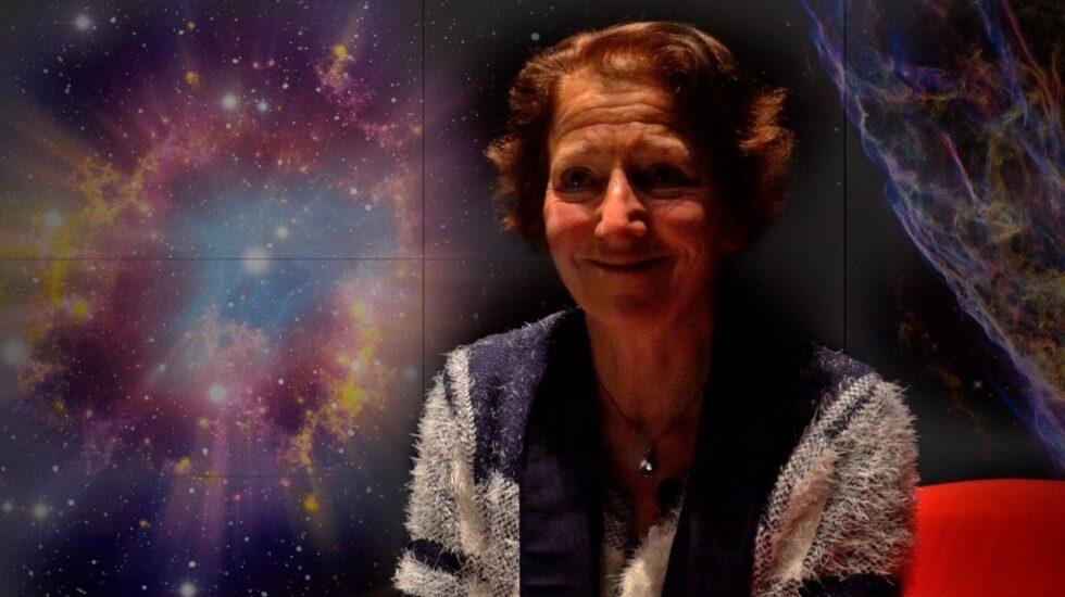 La astrónoma Isabelle Grenier en su visita al Instituto Francés de Madrid