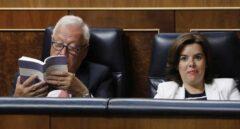 Margallo y Sáenz de Santamaría cuando compartían escaños azules en el Congreso