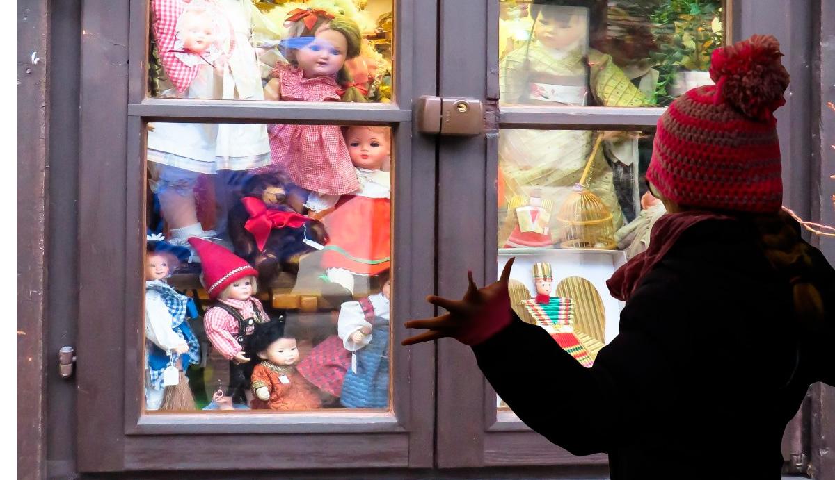 La mayoría de los juguetes no los compran los padres, sino abuelos, tíos y otros familiares.