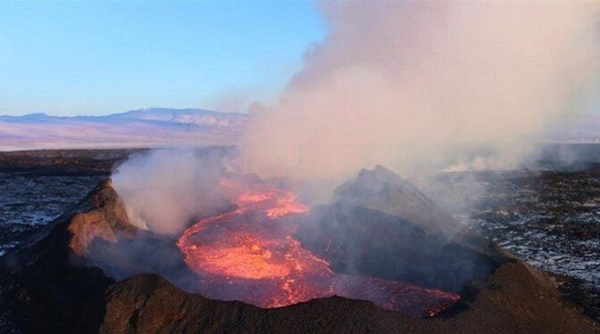 Las cenizas de un volcán en erupción en el Caribe llegan a España este miércoles