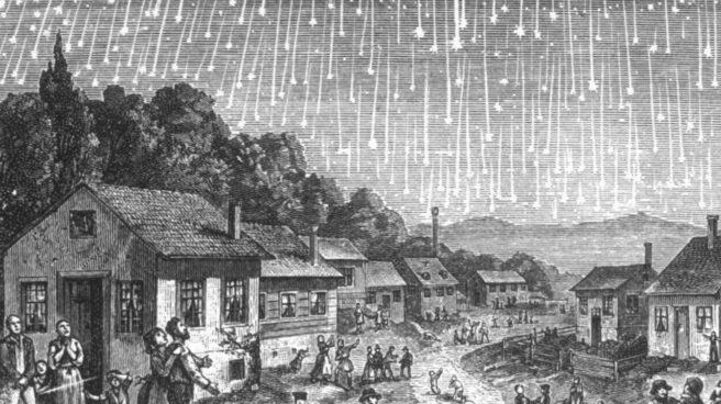 Lluvia de estrellas Leónidas de 1833Lluvia de estrellas Leónidas de 1833