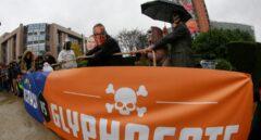 Manifestación contra el uso del Glifosato en Bruselas.