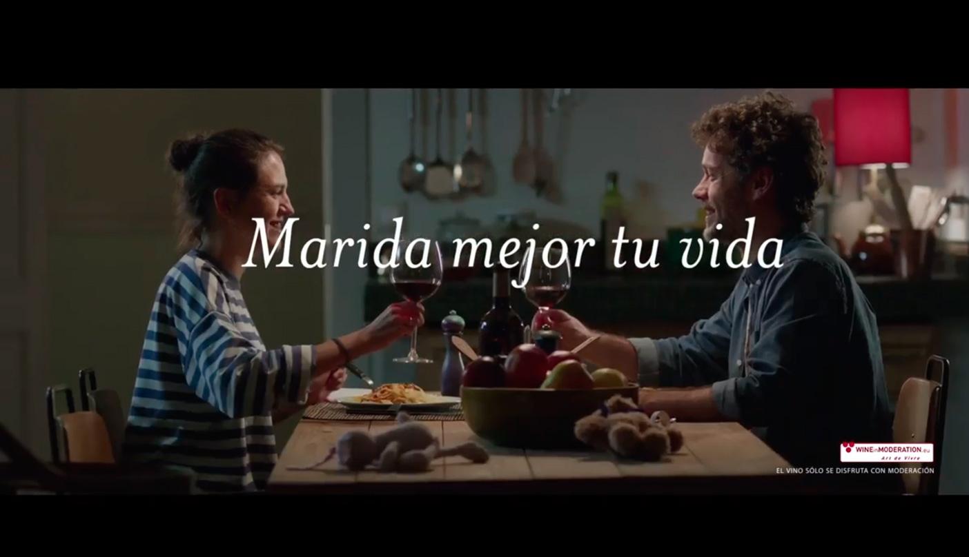 """Campaña """"Marida mejor tu vida con vino"""" para fomentar el consumo de vin"""