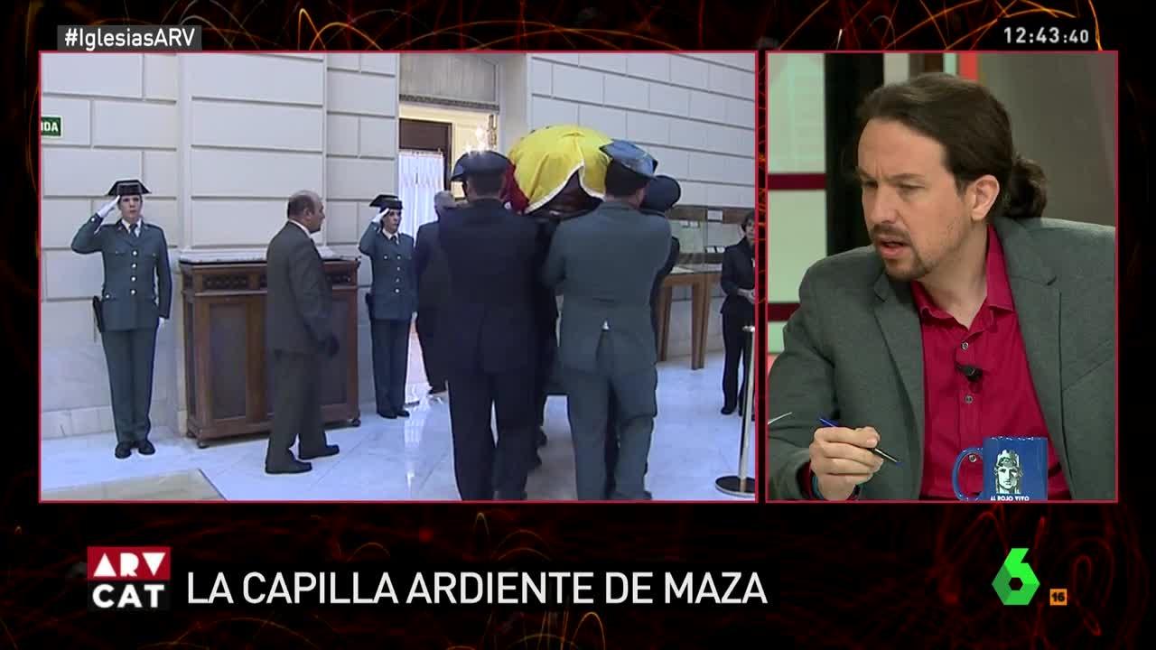 Pablo Iglesias, en una entrevita en La Sexta.