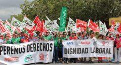 Unos 27.000 trabajadores de prisiones, convocados a la primera huelga general