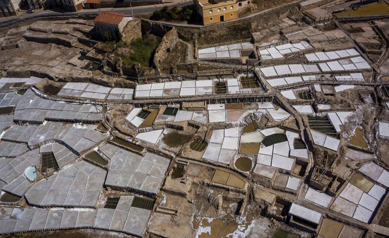 Sistema de producción de sal de Añana.