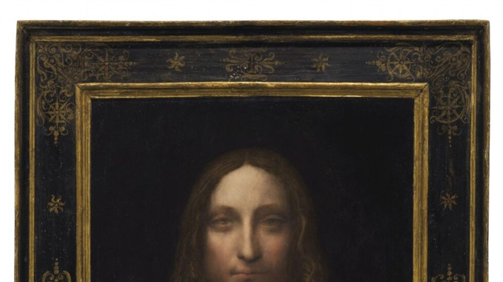 'Salvator Mundi' de Leonardo Da Vinvi, conocida como la Mona Lisa Masculina.
