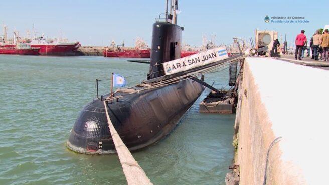 Submarino San Juan.