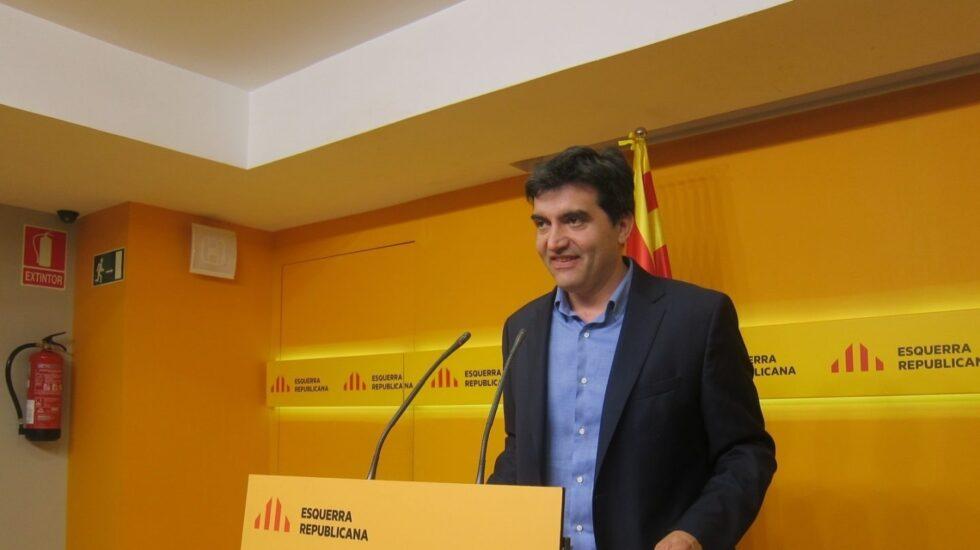 Sergi Sabrià, portavoz de ERC.