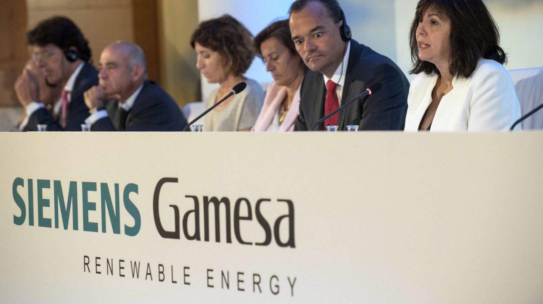 Siemens Gamesa se hunde en bolsa.