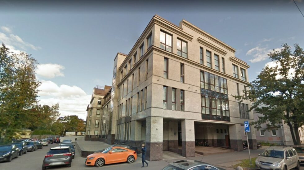 En este edificio de la calle Savushkina de San Petersburgo funcionó durante años el ejército de trolls del Kremlin.