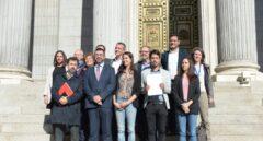 El grupo parlamentario de Unidos Podemos registra una reforma de la regla de gasto en el Congreso de los Diputados.