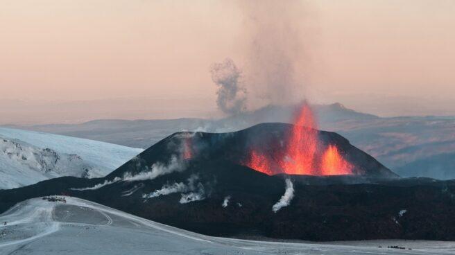 Volcan Eyjafjallajökull en 2010