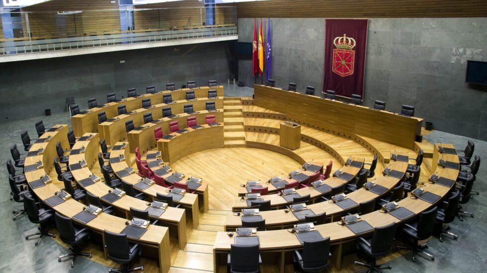 Parlamento foral de Navarra.