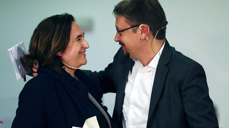 Colau recupera a Xavier Domènech como asesor del Ayuntamiento