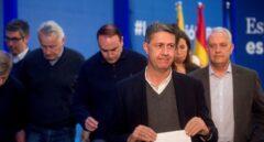 Xavier García Albiol, tras conocerse los resultados de las elecciones del 21-D.