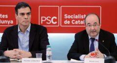 """Pedro Sánchez obvia el fiasco del PSC y carga contra Rajoy: """"No puede vertebrar España"""""""
