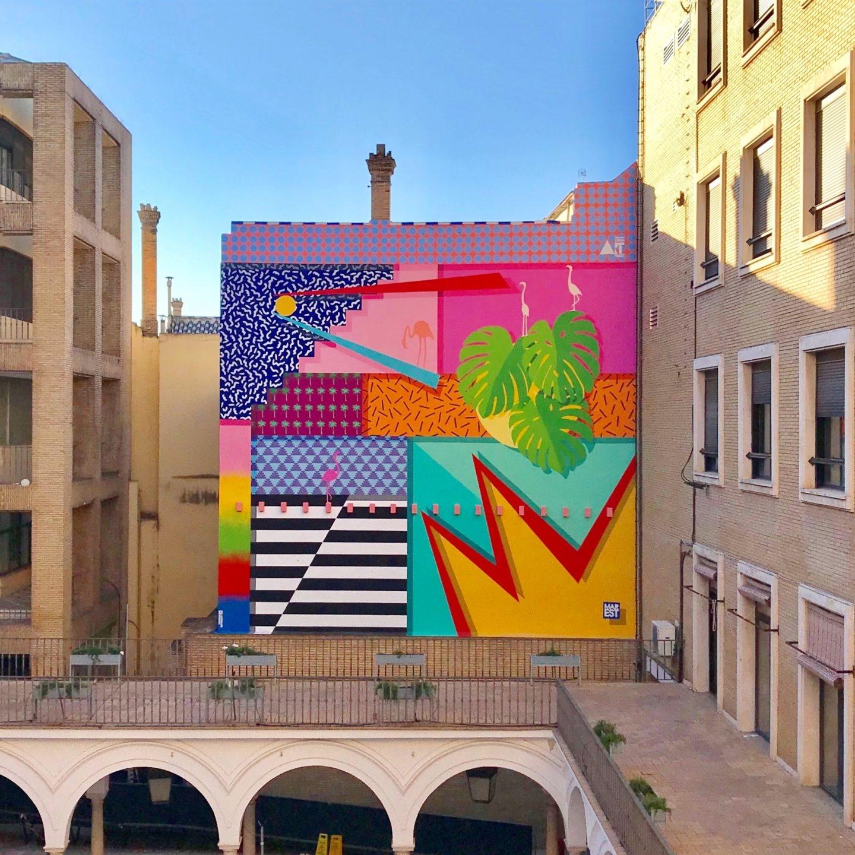 Intervención de Antonyo Marest la Facultad de Bellas Artes de la Universidad de Sevilla