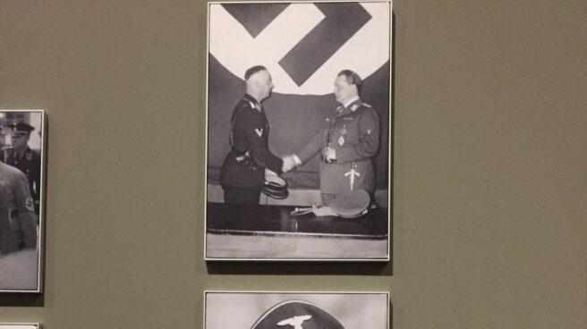 Reinhard Heydrich, en la exposición de Auschwitz en Madrid.