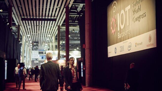 Una imagen del Congreso IOT en la Fira de Barcelona.