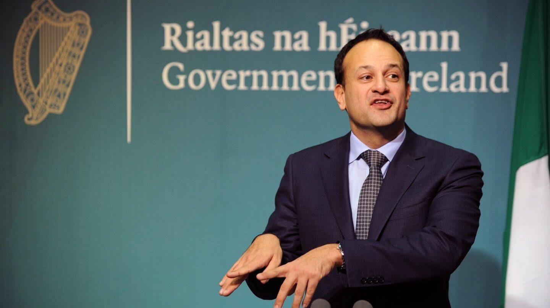 El primer ministro de la República de Irlanda, Leo Varadkar, en Dublín.