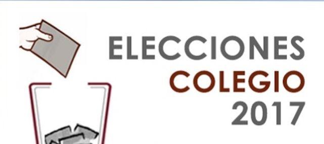 Cartel de las elecciones al Colegio de Abogados de Madrid.