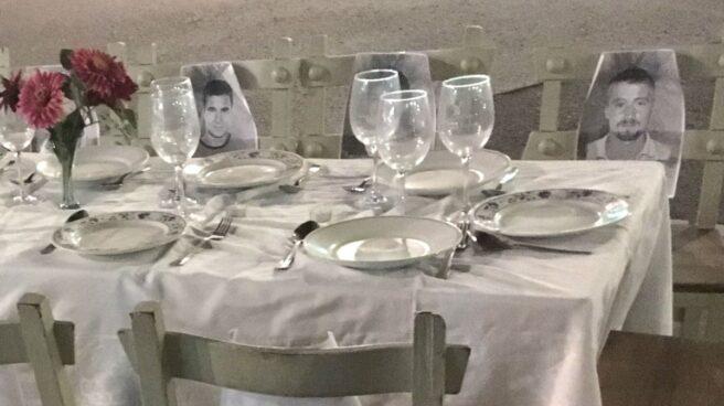 La cena de Nochebuena en Galdácano.