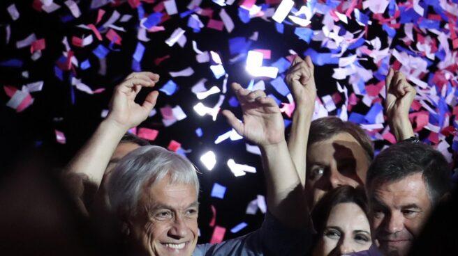 Sebastián Piñera, candidato de Chile Vamos, ha ganado en las presidenciales en segunda vuelta.
