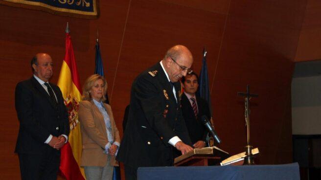Florentino Villabona, cuando juró el cargo como DAO el pasado mes de enero.