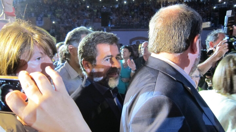Jordi Sànchez, en un acto de la ANC.