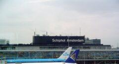 Aeropuerto de Amsterdam Schiphol.