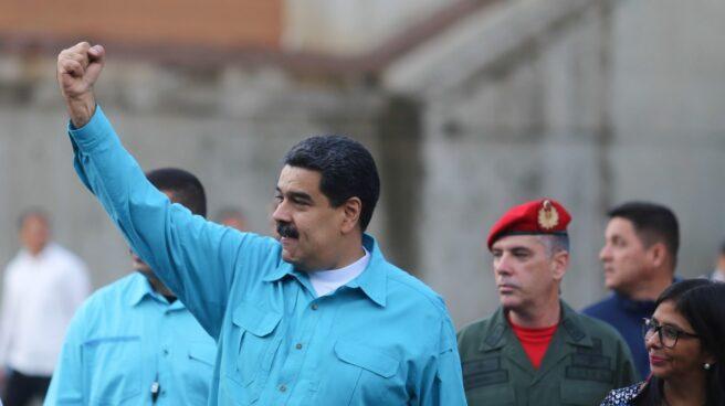 Nicolás Maduro, presidente de Venezuela, en un encuentro con seguidores en la capital.