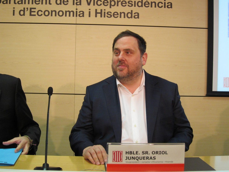 El ex vicepresidente de la Generalitat Oriol Junqueras.