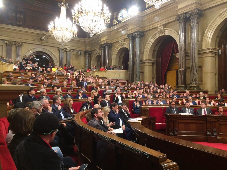 Imagen del Parlament.