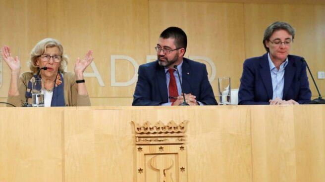 Cesado Carlos Sánchez Mato, delegado del Ayuntamiento de Madrid, y le sustituye en Hacienda Jorge García Castaño