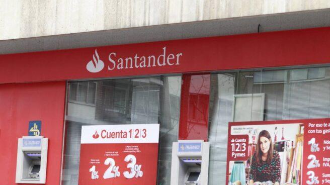 Santander rebaja el máximo remunerado de la Cuenta 1,2,3