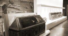 Las vitrinas vacías de Sijena son la imagen del 155