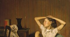 'Thérèse Dreamin', de Balthus.