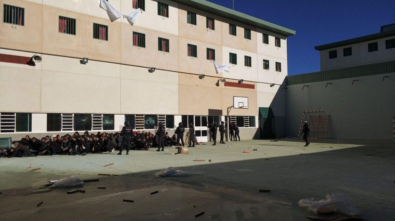 Interior de la cárcel de Archidona