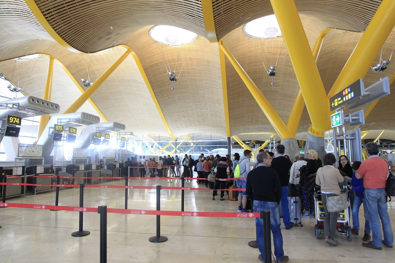 Aena: imagen de la T4 del aeropuerto Adolfo Suárez de Madrid.